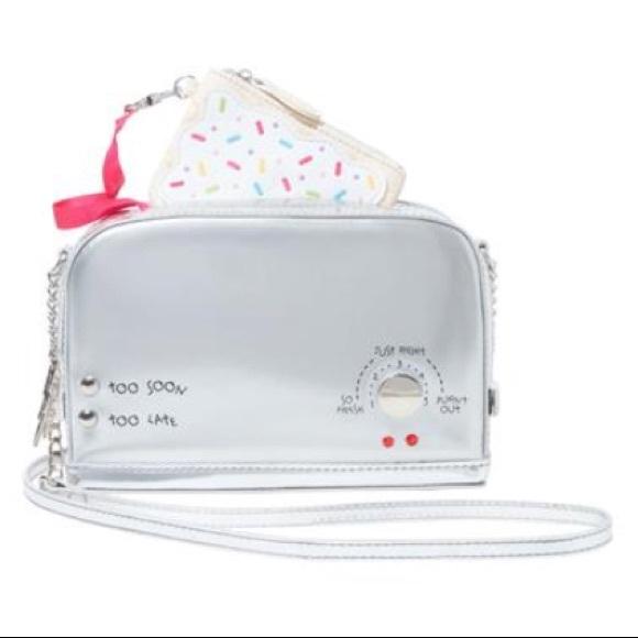 Betsey Johnson Handbags - 🦄 Betsey Johnson A TOAST TO YOU